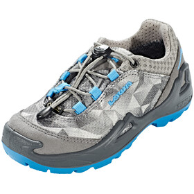 Lowa Ticino GTX Low Shoes Junior grey/turquoise